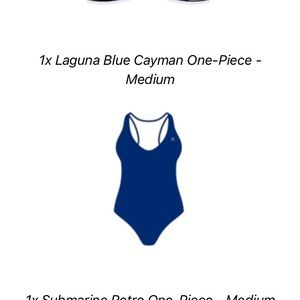 Boutine La Laguna Blue One piece